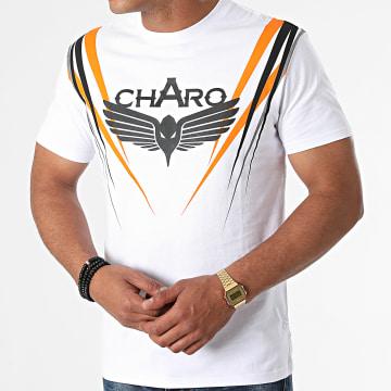 Charo - Tee Shirt Scratch WY-4768 Blanc