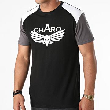 Charo - Tee Shirt Beamer Noir Gris