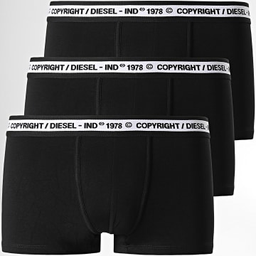 Diesel - Lot De 3 Boxers Damien 00ST3V-0WBBT Noir