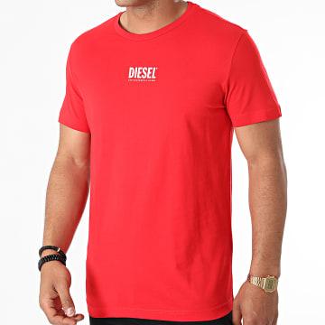 Diesel - Tee Shirt Diegos Ecosmallogo A02878-0AAXJ Rouge