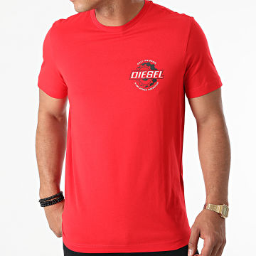 Diesel - Tee Shirt Diegos K23 A02973-0GRAI Rouge