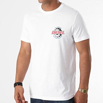 Diesel - Tee Shirt Diegos K23 A02973-0GRAI Blanc