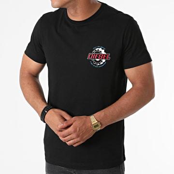 Diesel - Tee Shirt Diegos K23 A02973-0GRAI Noir
