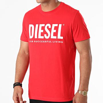 Diesel - Tee Shirt Diegos Ecologo A02877-0AAXJ Rouge