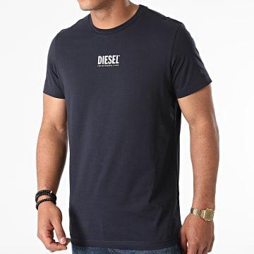 Diesel - Tee Shirt Diegos Ecosmallogo A02878-0AAXJ Bleu Marine