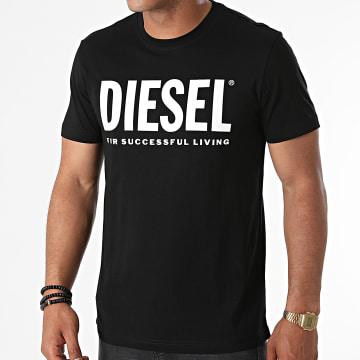 Diesel - Tee Shirt Diegos Ecologo A02877-0AAXJ Noir