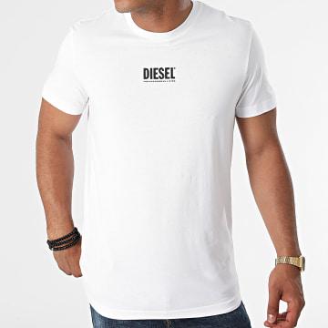 Diesel - Tee Shirt Diegos Ecosmallogo A02878-0AAXJ Blanc