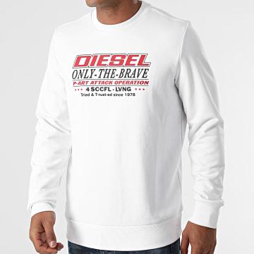 Diesel - Sweat Crewneck Girk K21 A02969-0HAYT Blanc