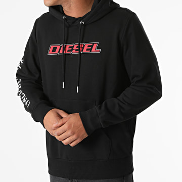 Diesel - Sweat Capuche Girk K10 A02967-0HAYT Noir
