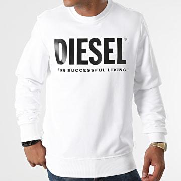 Diesel - Sweat Crewneck Girk Ecologo A02864-0BAWT Blanc