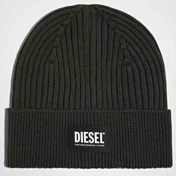 Diesel - Bonnet Coder Vert Kaki
