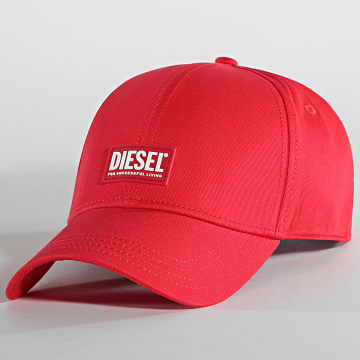 Diesel - Casquette Cory Rouge