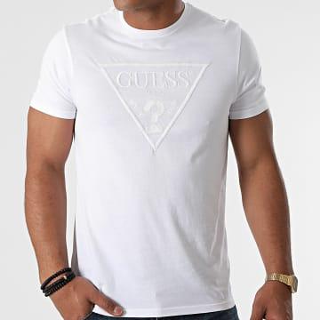 Guess - Tee Shirt M0BI1J-R9YK0 Blanc