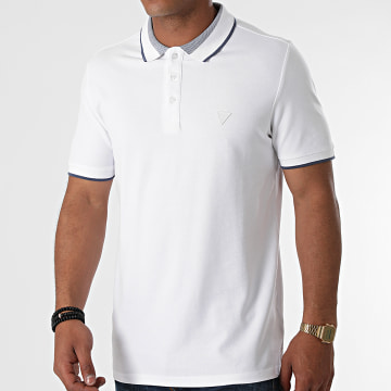 Guess - Polo Manches Courtes M1YP60-K7O61 Blanc
