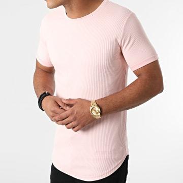 LBO - Tee Shirt Oversize 1848 Rose Pastel