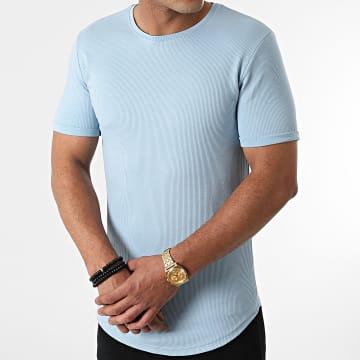 LBO - Tee Shirt Oversize 1849 Bleu Pastel