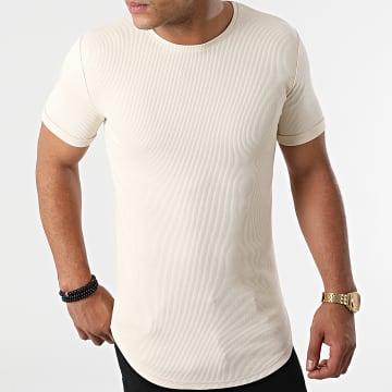 LBO - Tee Shirt Oversize 1850 Beige Pastel