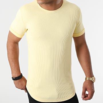 LBO - Tee Shirt Oversize 1851 Jaune Pastel