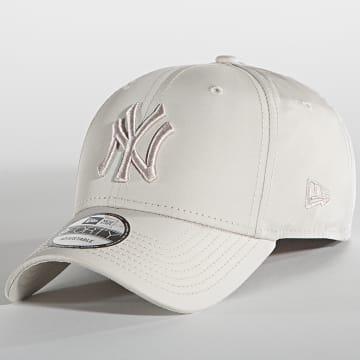 New Era - Casquette 9Forty Tonal 60137475 New York Yankees Beige
