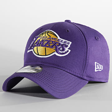 New Era - Casquette Fitted 39Thirty Core NBA 60137719 Los Angeles Lakers Violet