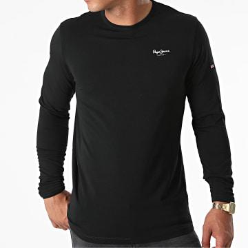 Pepe Jeans - Tee Shirt Manches Longues Original Basic 2 Noir