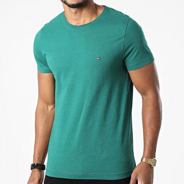 Tommy Hilfiger - Tee Shirt Essential Cotton Cneck 3344 Vert
