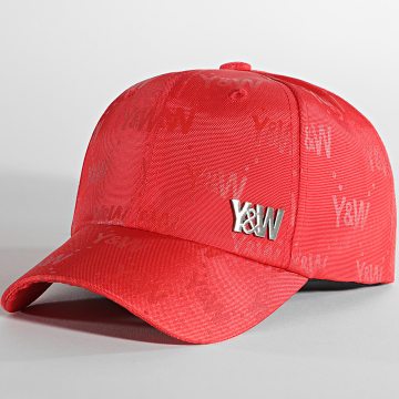 Y et W - Casquette All Over Rouge