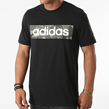 adidas - Tee Shirt Camouflage H28799 Noir
