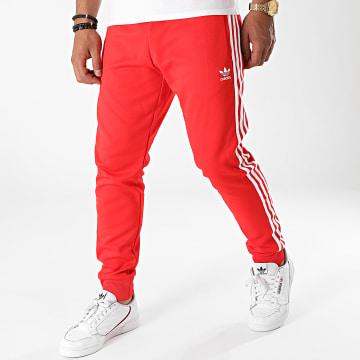 Adidas Originals - Pantalon Jogging A Bandes H06713 Rouge