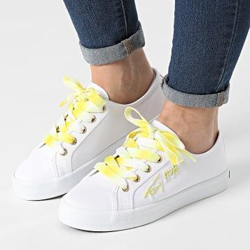 Tommy Hilfiger - Baskets Femme Essential Gradient 5802 White
