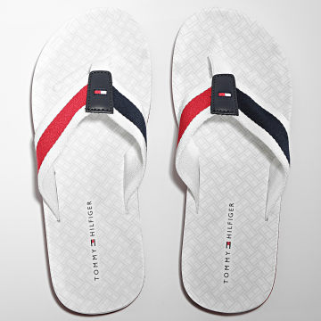 Tommy Hilfiger - Tongs Printed Comfort 3639 White