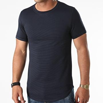 Uniplay - Tee Shirt Oversize T790 Bleu Marine