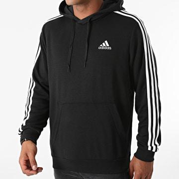 Adidas Performance - Sweat Capuche A Bandes GK9062 Noir