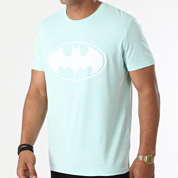 DC Comics - Tee Shirt Logo Mint Blanc