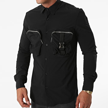 Ikao - Chemise Manches Longues LL400 Noir
