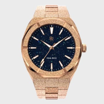 Paul Rich - Montre Frosted Star Dust Rose Gold