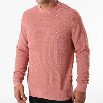 Tommy Hilfiger - Pull Structure MW0MW18595 Rose