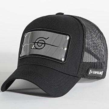 Capslab - Casquette Trucker Banner Noir