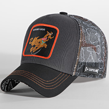 Capslab - Casquette Trucker Scooby-Doo Gris Anthracite