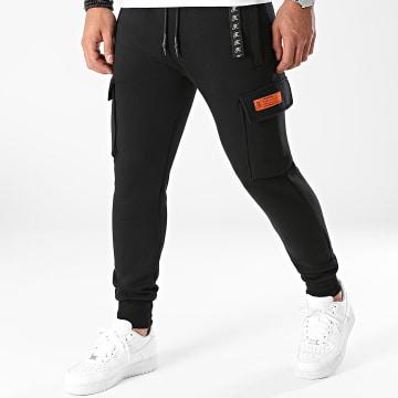Final Club - Pantalon Jogging Cargo Premium Fit 693 Noir