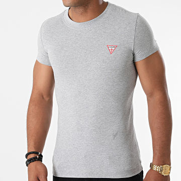 Guess - Tee Shirt W1YI0Z-J1311 Gris Chiné