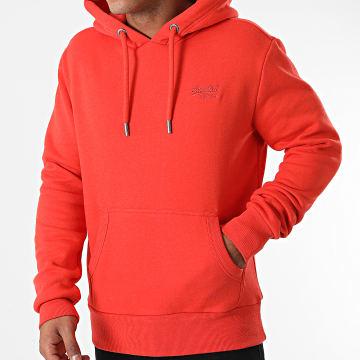 Superdry - Sweat Capuche Orange Label Classic M2010996A Orange