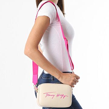 Tommy Hilfiger - Sac A Main Femme Iconic 0119 Beige