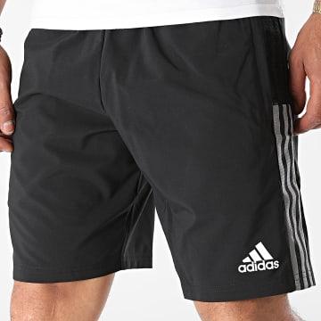 Adidas Performance - Short Jogging A Bandes Juventus GR2949 Noir
