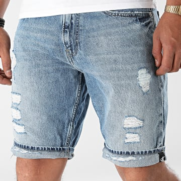 Calvin Klein - Short Jean Regular 8390 Bleu Denim