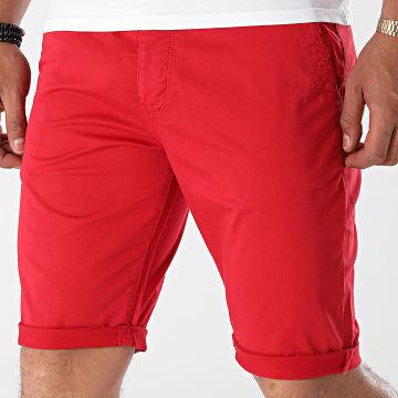 Mackten - Short Chino 6166 Rouge