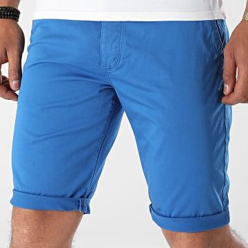 Mackten - Short Chino 6166 Bleu Roi