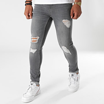 Only And Sons - Jean Skinny Warp Gris