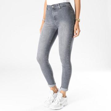 Only - Jean Skinny Femme Blush Life Legging Gris