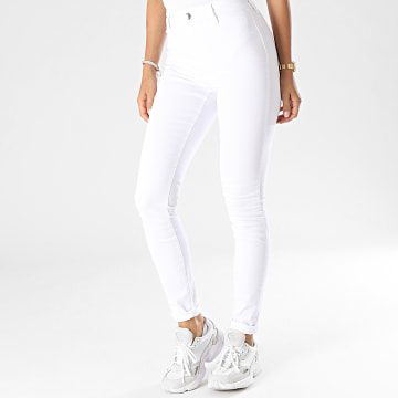 Only - Jean Skinny Femme Blush Life Legging Blanc